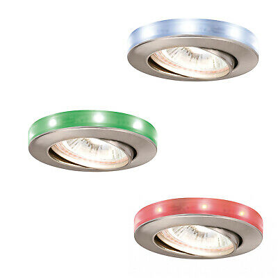 Paulmann Estrella Empotrable Set Orientable Con LED Reflectores RGB 3x20W 230/