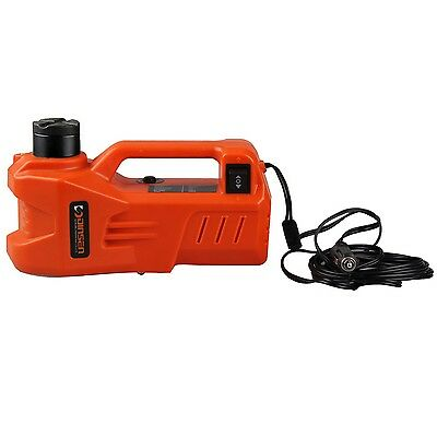 12V DC Electric Hydraulic Car Floor Jack with LED light (6.1-17.3 inch)