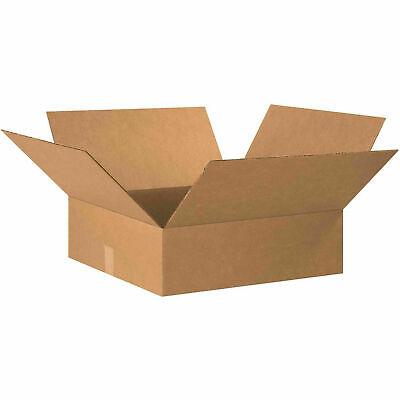 20 X 20 X 6 Flat Cardboard Corrugated Boxes 65 Lbs Capacity 200ect-32