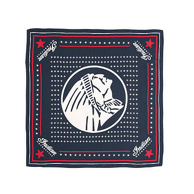 Indian Motorcycle Headdress Silk Bandana, Navy - 2869763