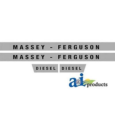 Massey Ferguson 135 Tractor Decal Set