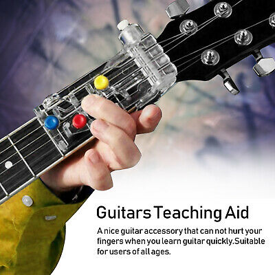 Guitar Chord Trainer Learning System Teaching Practice Assistant Beginner Tool