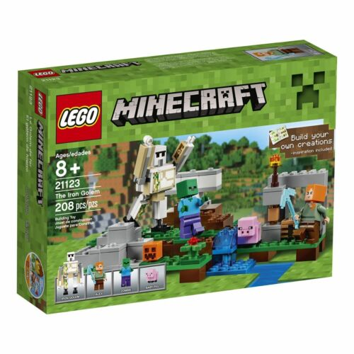 LEGO MINECRAFT The Iron Golem # 21123 (208 Pieces) New Sealed Free Shipping