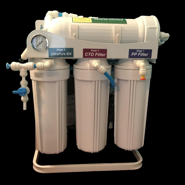 Alkaline RO Water Filter/500 GPD 9 Stage Tankless RO/Alkalin