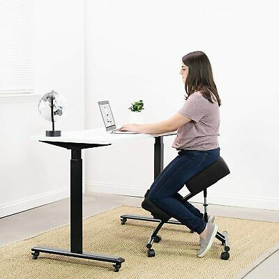 Kneeling Chair With Wheelsadjustable Ergonomic Stool For Home And Office