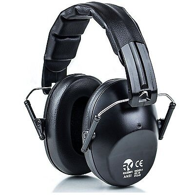 Rk Safety Safety Earmuff 34db Industrial Hearing Protection-rk-emo01bk