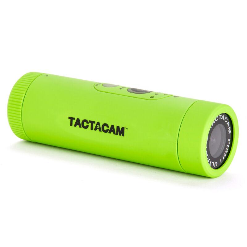 TACTACAM FISH-i Wide Lens Action Camera w/ Head Mount & Universal Mount Adapter