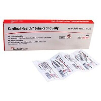 Ind Cardinal Health Lubricating Jelly 3g Foil Packet
