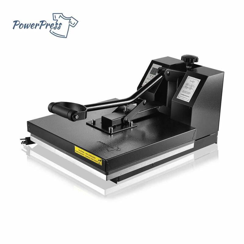"PowerPress 15""x15"" Industria Digital Sublimation T-Shirt Heat Press Machine"