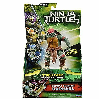 Teenage Mutant Ninja Turtles Film Deluxe Raphael Figur,Neu ()