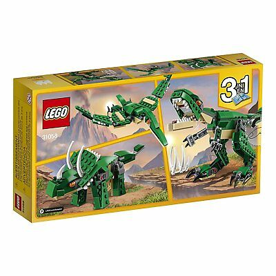 LEGO Creator Mighty Dinosaur Building Set Kids Toy 3 Models Playset Buildable