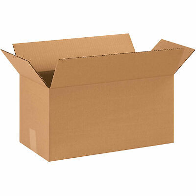 18 X 9 X 9 Long Cardboard Corrugated Boxes 65 Lbs Capacity 200ect-32 Lot