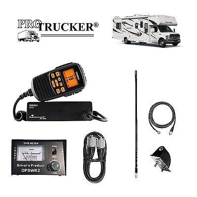 Pro Trucker RV No Ground Plane CB Radio Full Kit Includes Un