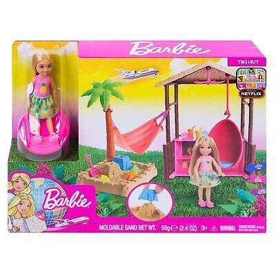 Barbie Club Chelsea Tiki Playset with Small Blonde Doll FWV24
