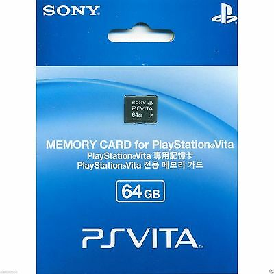 New Sony Ps Vita 64Gb Memory Card Playstation Psv Pch Z641  L012  Tf0059
