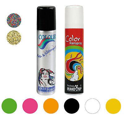 Haarspray Farbspray Haar Spray Farbe Color Haarspray für Halloween Karneval 75ml