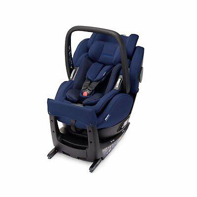 RECARO Salia Elite Select Pacific Blue Grey Child Seat 0-18 kg 0-39 lbs_