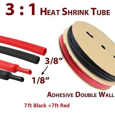Adhesive Lined Heat Shrink Tubing Kit 31 Dual Wall Tube Marine Grade Isolation