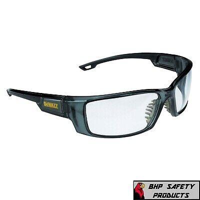 Clear Safety Glass Dewalt Excavator Dpg104 Work Eyewear Protective Glasses 1pr