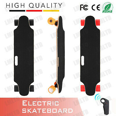 ANCHEER Electric Skateboard Longboard Wireless Board w/ Remote Control Fr Youth2