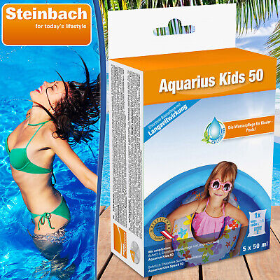 Aquarius Kids 50 Wasserpflege für Kinder Pools Planschbecken Pool gegen