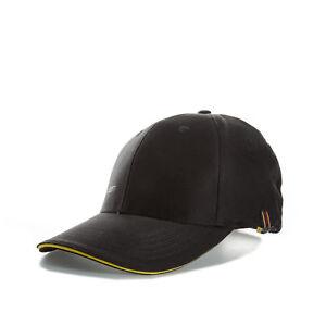 Lyle And Scott Mens Cotton Twill Tour Cap in Black - One Size e3abe92621b3