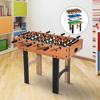 4 in 1 Multi Spieltisch Tischfussball Tischkicker Billard Tischtennis Hockey