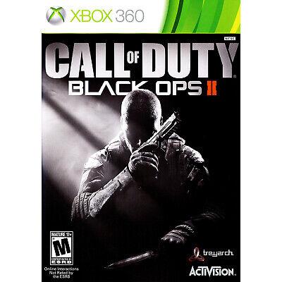 Call of Duty: Black Ops II Xbox 360 [Factory Refurbished]