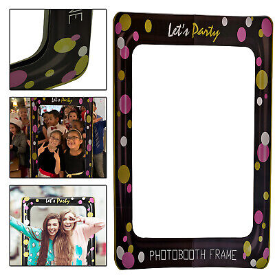 Selfie Prop Photo Booth Frame Let's Party Theme For Wedding Birthday New year - New Year Party Themes