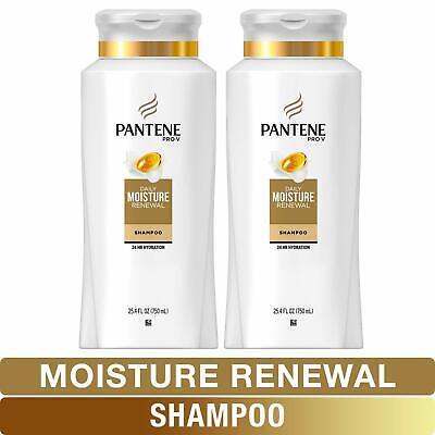 Pantene, Shampoo Pro-V Daily Moisture Renewal for Dry Hair 25.4 Fl Oz Twin Packs