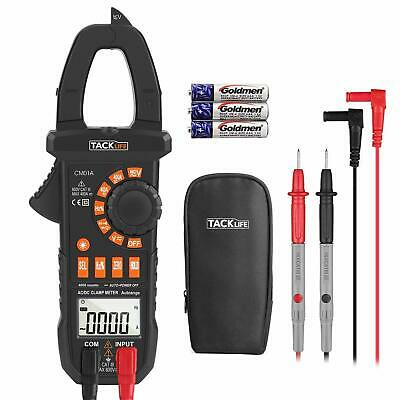 Multimeter Tacklife Cm01a Clamp Meter 4000 Counts Auto-ranging Digital Tester W