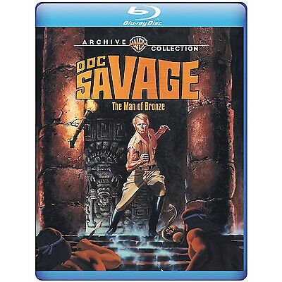 Doc Savage: The Man of Bronze 1975 (Blu-ray) Ron Ely, Paul Gleason - New!