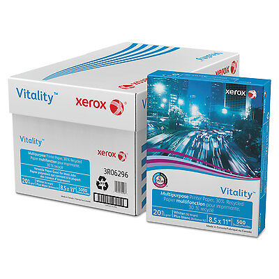XEROX Vitality 30% Recycled Multipurpose Printer Paper 8 1/2 x 11 White 500