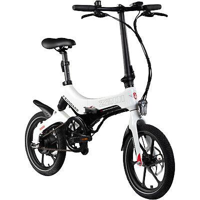 16 Zoll DOHIKER Elektrofahrrad Falten E-Bike Faltbares Klapprad 250W 36V 6-Gang