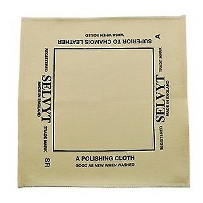 Genuine Selvyt Universal Polishing Cloth - 25cm x 25cm - Boot Bulling Diddly
