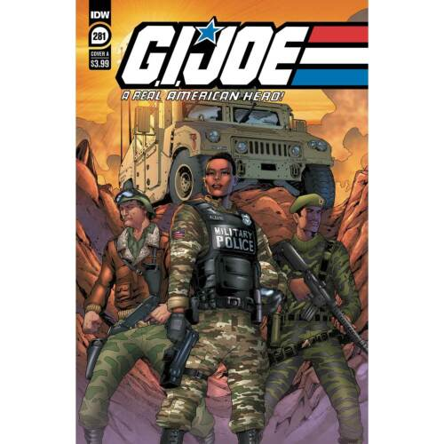 G.I. Joe A Real American Hero #281 IDW Comics 1st Sherlock 1st Print