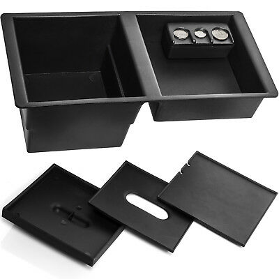 Center Console Organizer Tray Fits 14-19 GM Suburban for Front Floor Insert (Console Tray)