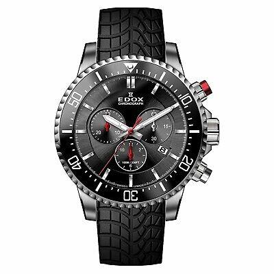 NEW Edox Chronorally-S Men's Chronograph Watch - 10227-TINCA-NIN