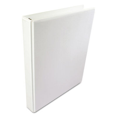 Wilson Jones A4 International Round Ring View Binder 1 Cap 8 12 X 11 58 White