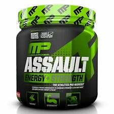 Musclepharm ASSAULT SPORT Energy + Strength Pre Workout 30 Serves STRAWBERRY ICE