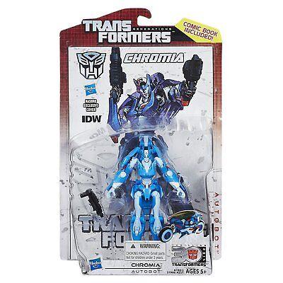 2014 Transformers Generations 30Th Chromia Idw Comic Series New