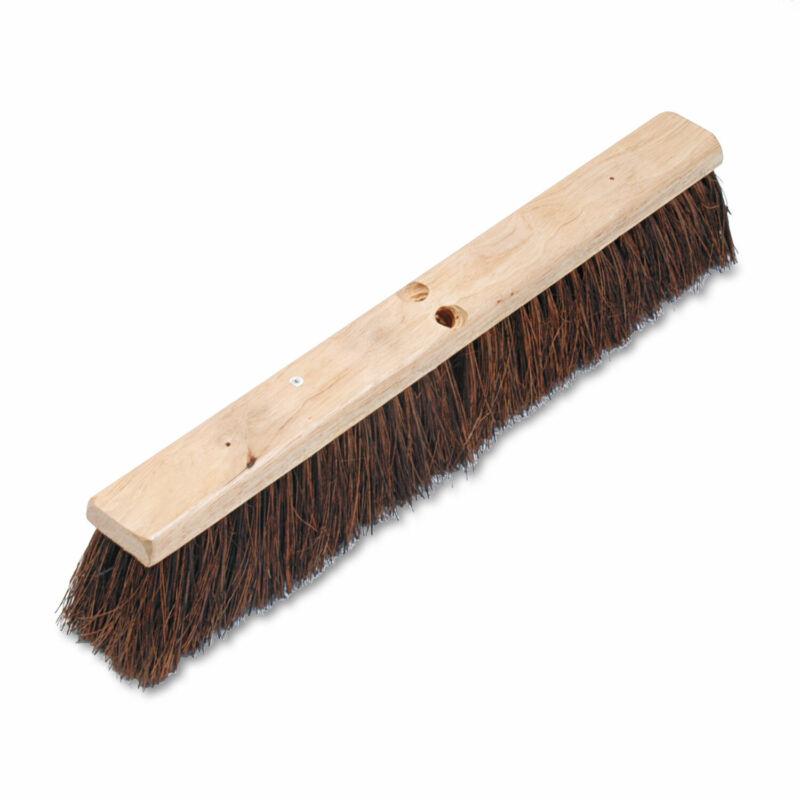 """Boardwalk Floor Brush Head 3 1/4"""" Natural Palmyra Fiber 24"""" 20124"""