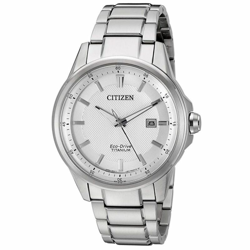 Citizen AW1490-50A Men TI+IP Grey Eco-Drive Watch