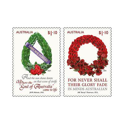 Australie - LEST WE FORGET 2021 - Stamps + Minisheet + FDC + Maxicards