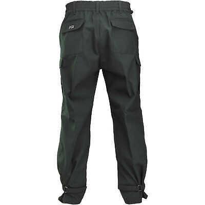 Fireline 6 Oz. Nomex Iiia Wildland Fire Pants Green Large Long Inseam