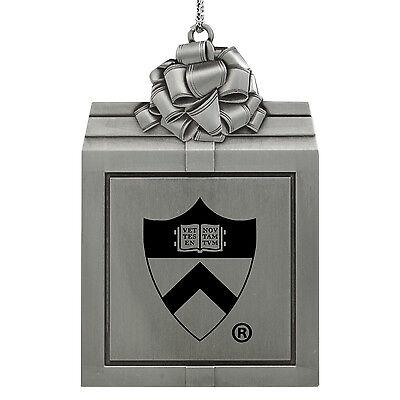 Princeton University -Pewter Christmas Holiday Ornament-Silver ()