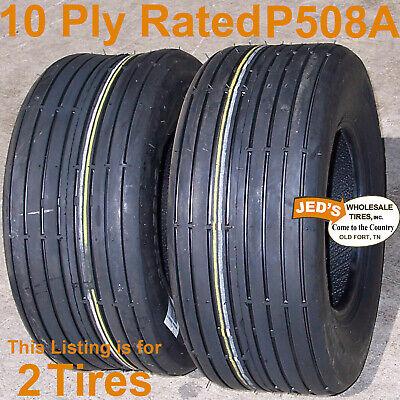 2 166.50-8 16-650-8 16x6.50-8 I-1 Rib Wanda Journey P508 Hay Tedder Tire 10ply