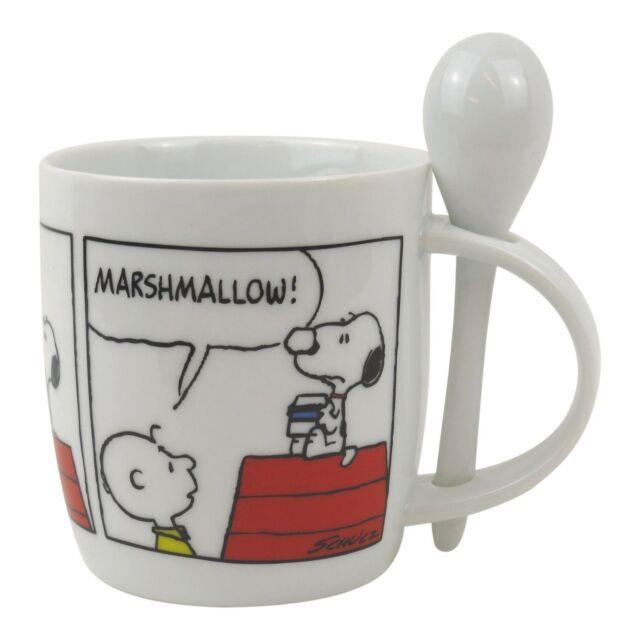 Snoopy Hot Chocolate Mug & Spoon Set