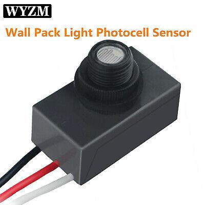 Outdoor Dusk To Dawn Light Sensor 120-277v Swivel Cell Light Control Photocell