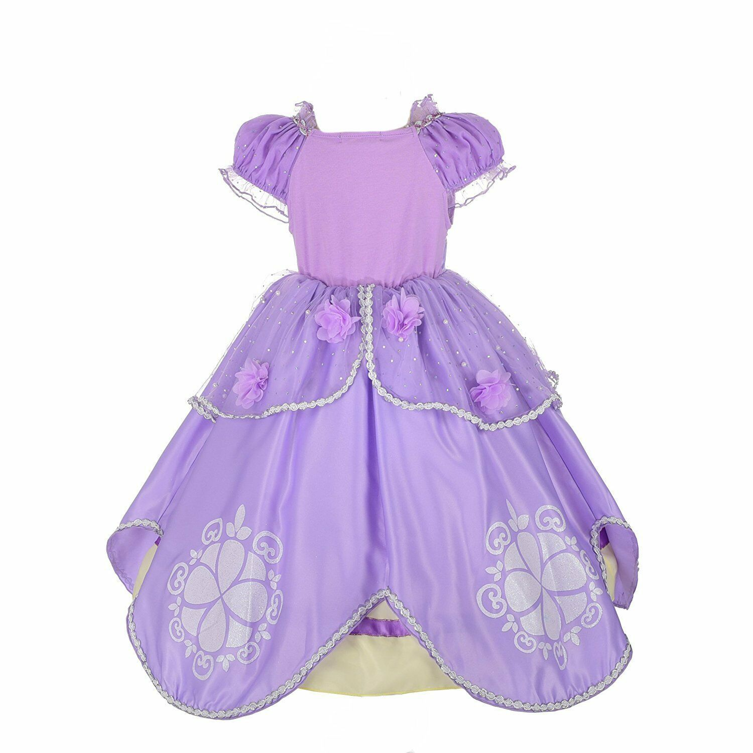 2840153a2 Romy's Collection Girls Sofia Inspired Princess Dress-Up Costume Set